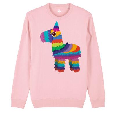 Felpa Rainbow Lama (Eco)